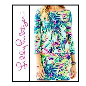 Lilly Pulitzer XL Marlowe ISLAND TIME dress NWOT